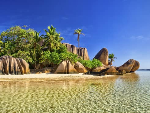 Seychelles consists of 115 granite and coral islands in the western Indian Ocean, with a population of 87,122.A rise of just three feet would submerge the Maldives and make them uninhabitable. Also it has witnessed the world`s worst coral die-off.