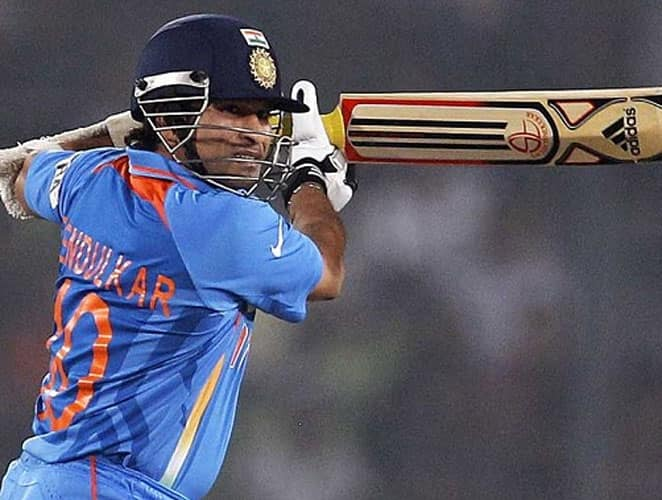 October 28, 1998: Bangladesh hosted the inaugural ICC Champions Trophy which was also known as the Mini World Cup. India were invited to bat first by Australia.Sachin Tendulkar had been in sublime form against the Aussies in Sharjah and he continued to pummel their bowling attack as the Little Master smashed his third successive ton. Sachin's knock included 13 boundaries and 3 sixes. India reached a good score of 307 runs. Tendulkar also became the hero with the ball as he claimed four wickets and ripped through Australian middle-order. Result: India won by 44 runsMan of the Match: Sachin Tendulkar -