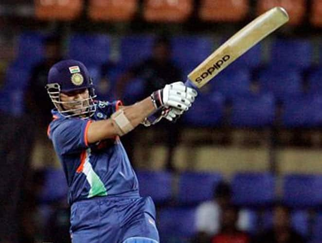 September 14, 2006: Tendulkar missed five months of international cricket as he had to undergo a shoulder operation. The Little Master resumed playing cricket in a triangular series where West Indies and Australia were the other two teams. India played their first match of the series against the Windies. Skipper Dravid and Tendulkar added 75 runs for the first wicket and Sachin stitched 125 runs for the second wicket with Irfan Pathan (64). The rest of the batsmen couldn't do much but Tendulkar remained unbeaten towards the end and his innings comprised of 13 boundaries and five sixes. In reply Windies scored 141 runs in 20 overs before heavy rains interrupted play and they were declared winners according to the D/L method.Result: West Indies won by 29 runs (D/L method) Man of the Match: Sachin Tendulkar -