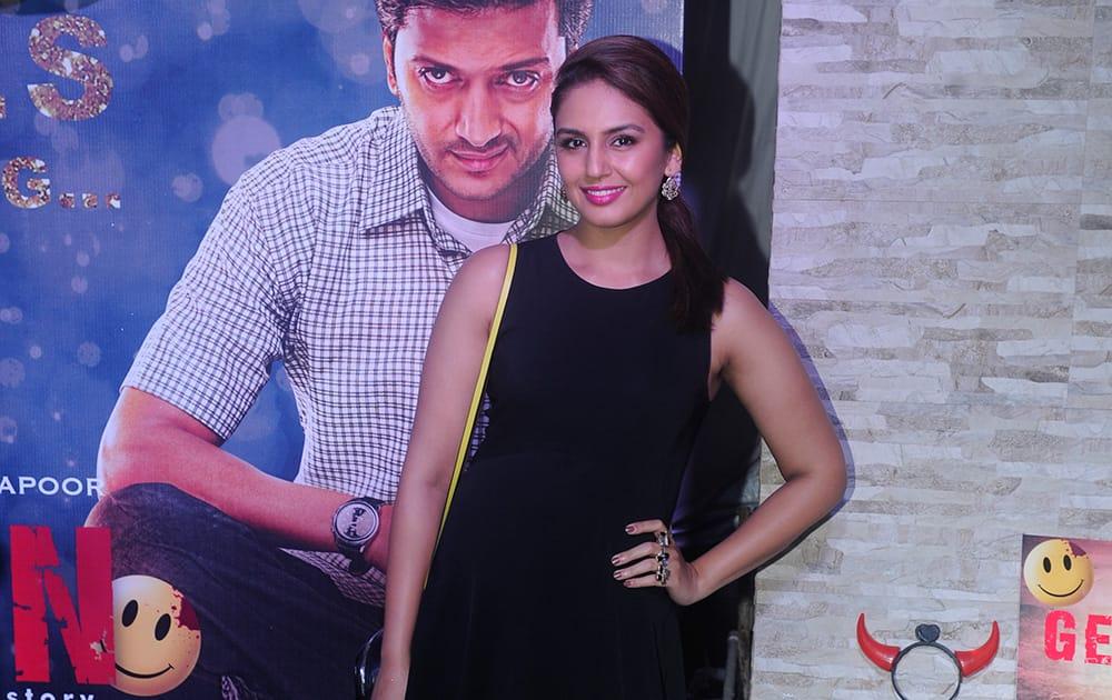Huma Qureshi during the success party of film 'Ek Villain' in Mumbai.- Rajneesh Londhe.dna