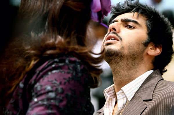 Arjun Kapoor's messy look as Savio.