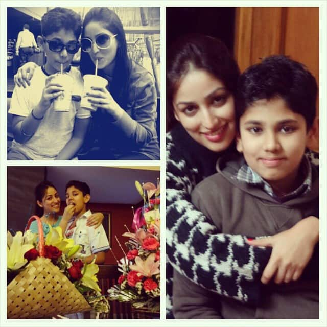yamigautam - Happy Rakhi to my cutest brother,Ojas !This is such a special bond,forever..Happy Rakshabandhan to all the bhaiyas & didis :) twitter