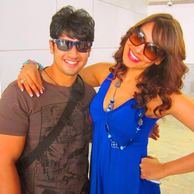 bipashabasu - Happy Rakhi to all! Blessed with a great bro! Soham! Love ya! twitter