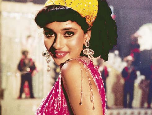 Madhuri Dixit made her mark in Bollywood with her sensational dance in the film 'Tezaab'. She won a nomination for the Best Actress at the Filmfare Awards. The film went on to christen Madhuri Dixit as the 'Ek Do Teen' girl of Bollywood.  - Spice Team