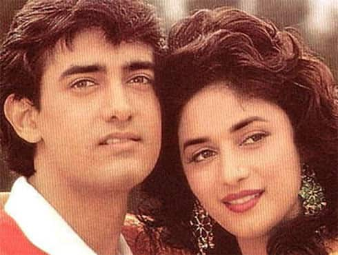 Sharing screen with Aamir Khan, Madhuri won her first Filmfare Best Actress Award for the film 'Dil'. The film was a major hit, and the song khambe jaisi khadi hai topped the charts for weeks. - Spice Team