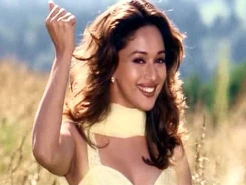 In Yash Raj's 'Dil To Pagal Hai', Madhuri Dixit played the perfect girl next door who was wooed by her suitor (Shah Rukh Khan). With her stunning looks and impeccable dancing, the actress made her way into the hearts of the audience and deservedly won the Filmfare Best actress trophy that year. - Spice Team