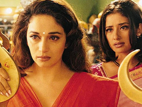Madhuri gained more acclaim for her role in the film which dealt with gender inequality. The film was a multi starrer with stalwarts like Rekha and Manisha Koirala also part of the star cast but it was Madhuri who stole the limelight with her fiery portrayal of a nautanki wali . - Spice Team