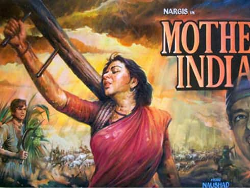 Directed by Mehboob Khan  Produced by Mehboob Khan  Star Cast Nargis Sunil Dutt Rajendra Kumar Raaj Kumar  Year 1957  Story reveals a poverty stricken village, where a women named Radha (Nargis) who belongs to a poor farmer family and gets widow has to suffer a lot. The movie was the first Bollywood movie to be nominated at the Oscars in the Foreign Film category.  - Spice Team