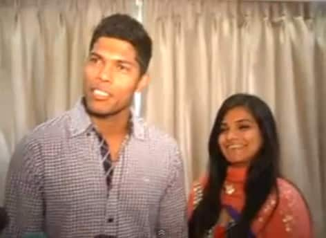 Umesh Yadav gets engaged.