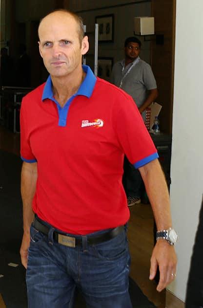 Gary Kirsten during the IPL Auction 2014 in Bengaluru.