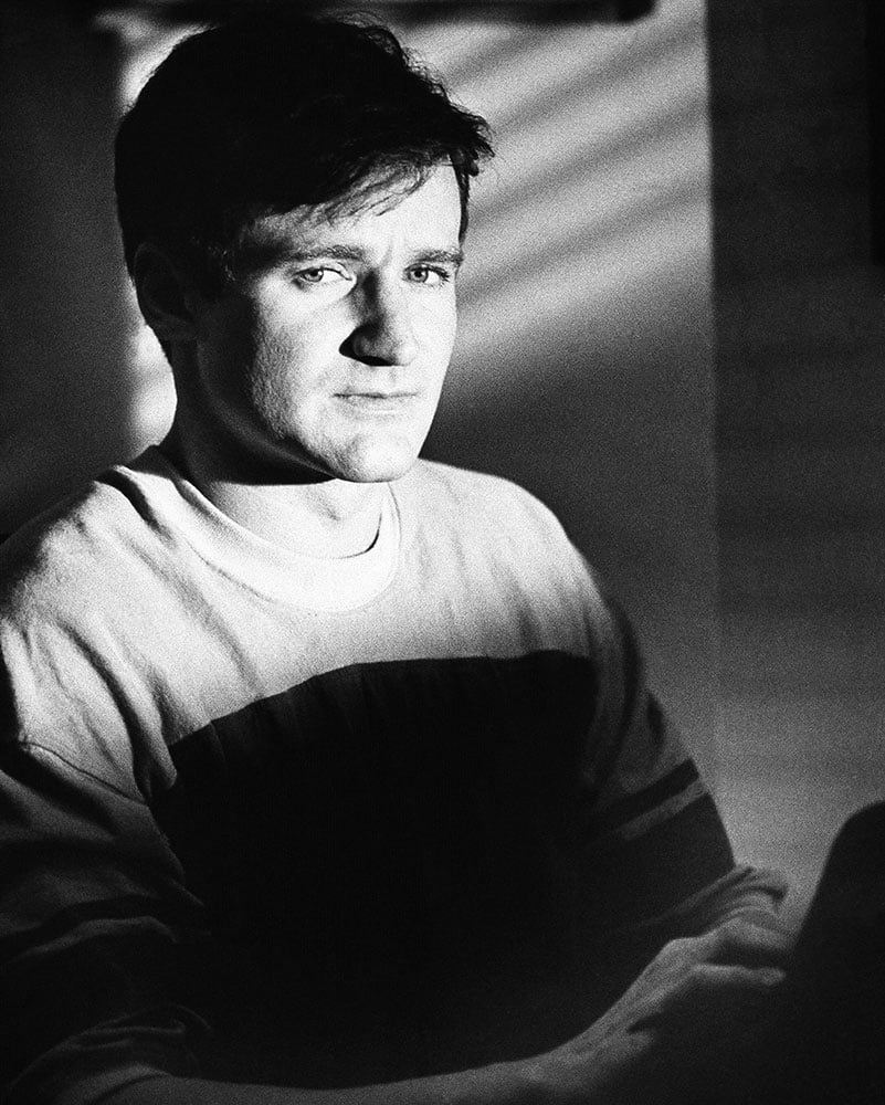 FILE - This 1982 file photo originally released by Warner Bros. Pictures shows actor Robin Williams as T.S. Garp from the film, `The World According to Garp.` Williams, whose free-form comedy and adept impressions dazzled audiences for decades, died Monday, Aug. 11, 2014, in an apparent suicide.