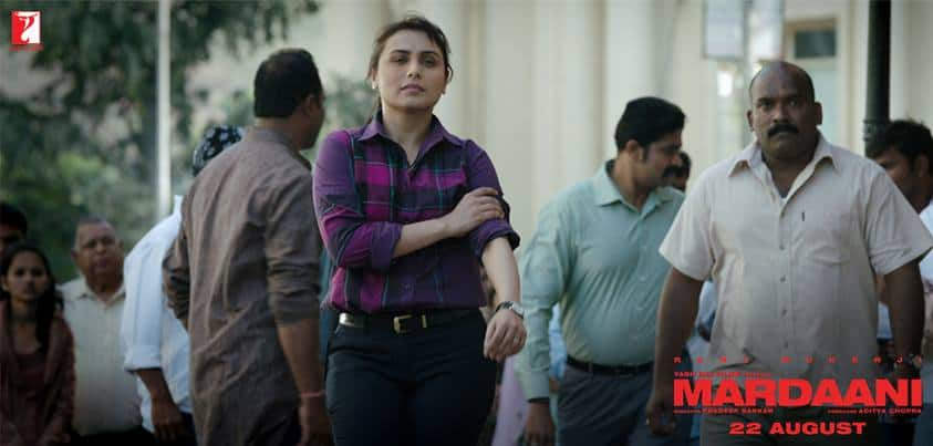 Rani Mukerji as Mardaani- Pic Courtesy Facebook