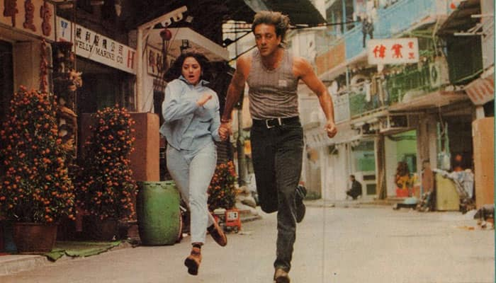 This crime thriller was a huge Box Office success and presented the unusual pairing of Sridevi and Sanjay Dutt on screen for the first time.