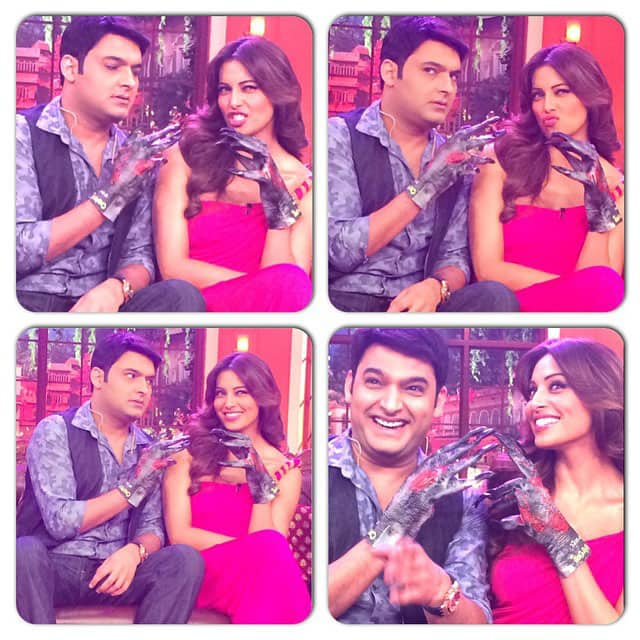 bipasha basu -Funny Creatures! #CNWK awesome fun! -instagram