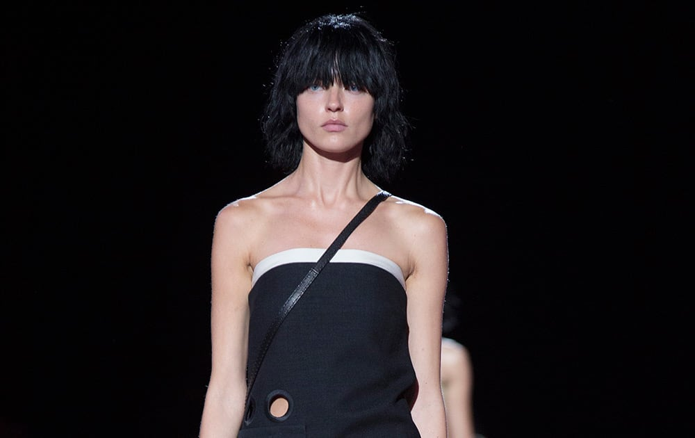 The Marc Jacobs Spring 2015 collection is modeled during Fashion Week.