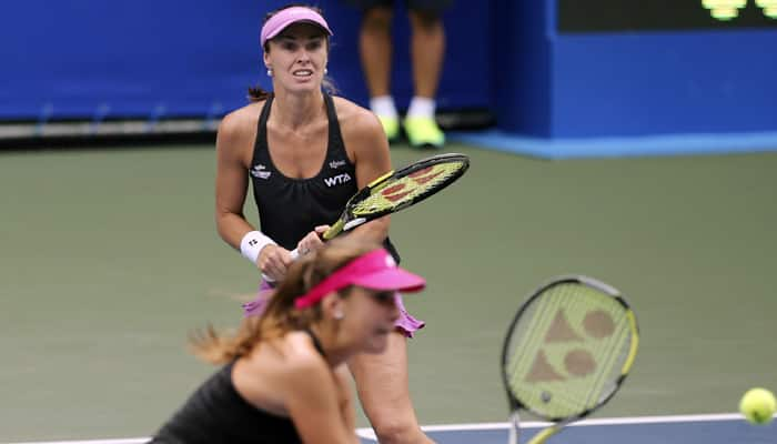 Pan Pacific Open: Early exit for Swiss dream team of Martina Hingis, Belinda Bencic