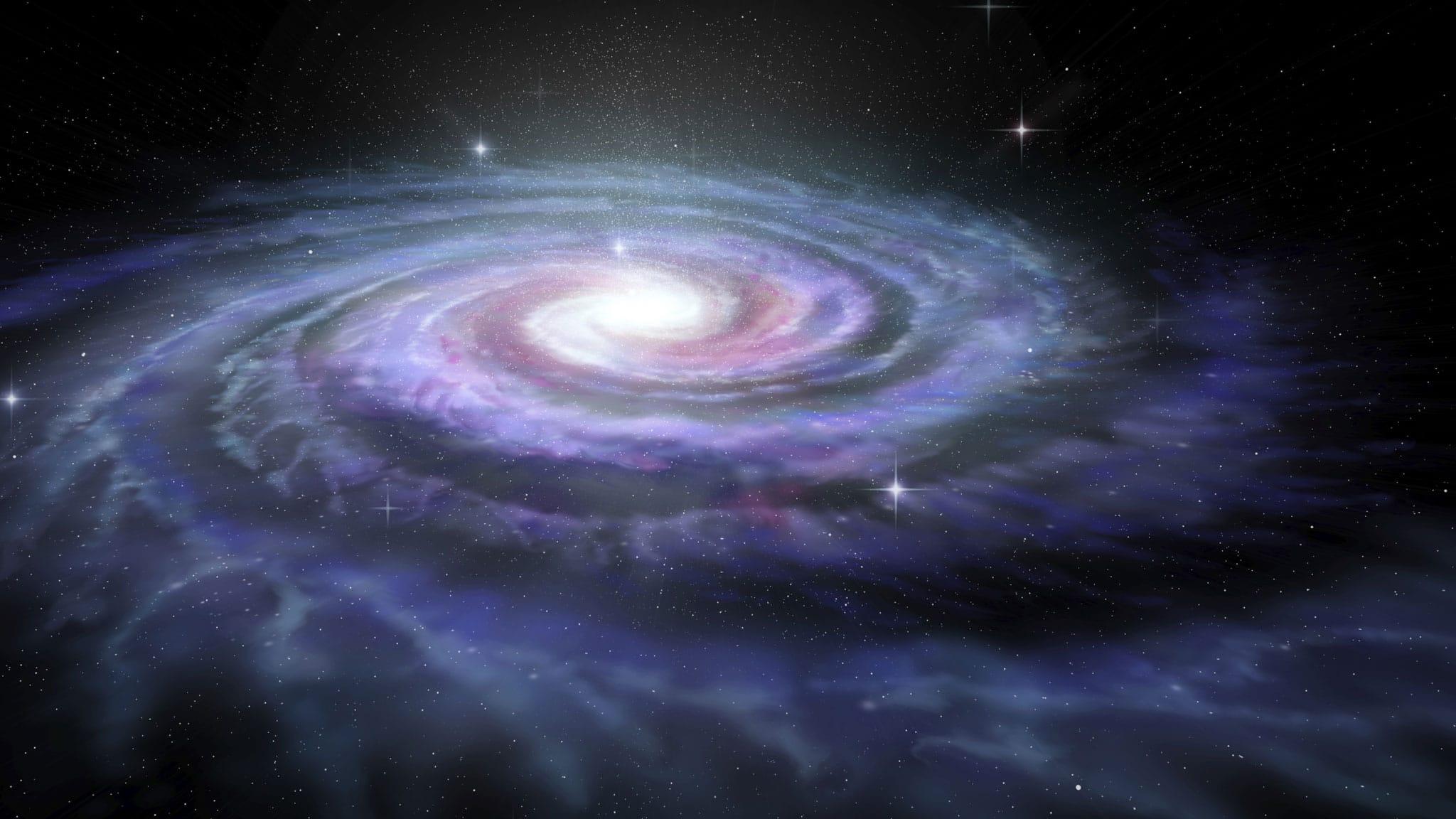 Dark matter may be half than earlier believed