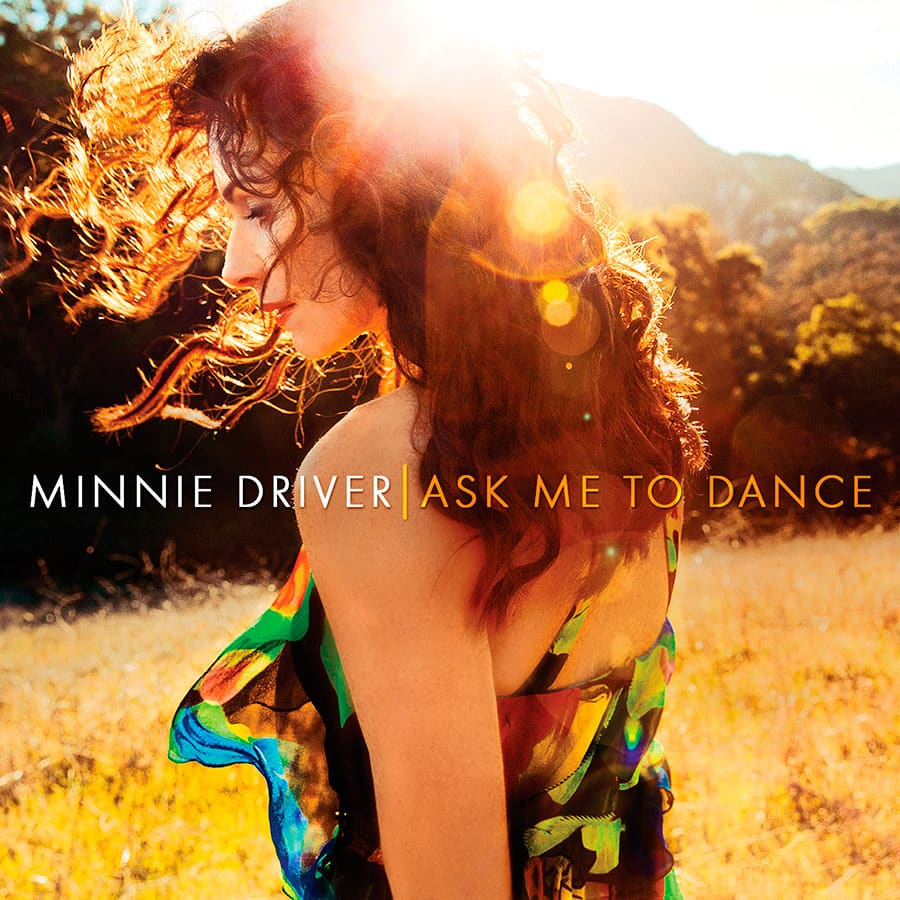 This photo provided by Concord Music Group shows the album cover of, `Ask Me To Dance,` by Minnie Driver.