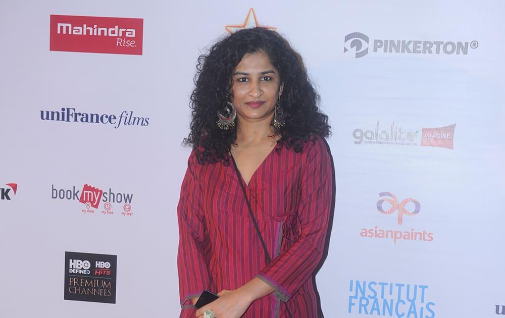 Gauri Shinde at the inauguration of 16th Mumbai Film Festival in Mumbai.- Rajneesh Londhe.dna