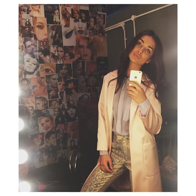 Amy Jackson - Super fabulous styling on my shoot today. Loved working with you @johnproctorstylist -instagram