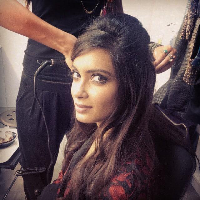 diana penty - Workin' the #Bardot look with #BazaarIndia today! #BigHair #60's #Lashes #Mascara -instagram