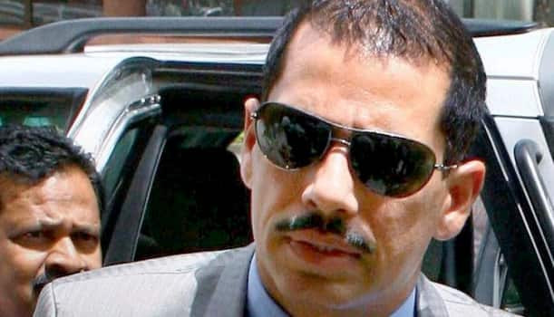 Robert Vadra loses cool over question on Haryana land deals, pushes aside reporter; BJP slams act
