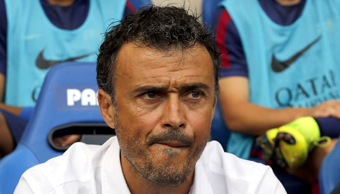 Luis Enrique expects flak after another Barcelona defeat