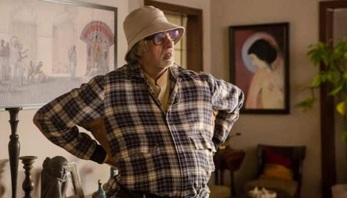 Amitabh Bachchan's varied moods during 'Piku' shoot