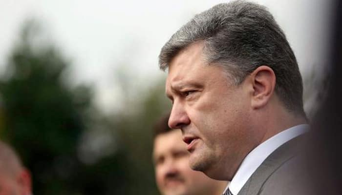 Ukraine rearming in case of rebel offensive: Poroshenko
