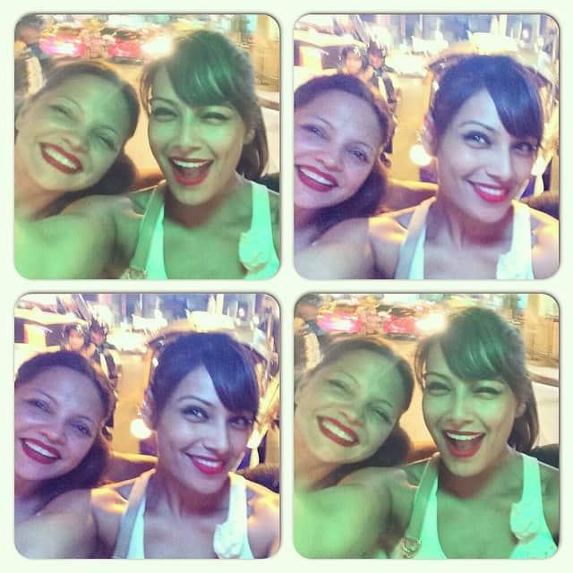 Bipasha Basu - Tuktuk ride in Bangkok last night was like a roller coaster ! Funnnn!  -instagram