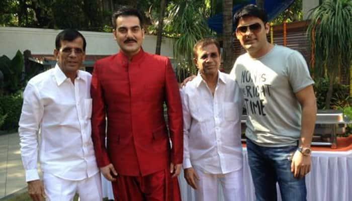 Arbaaz Khan shoots for Kapil Sharma's debut film