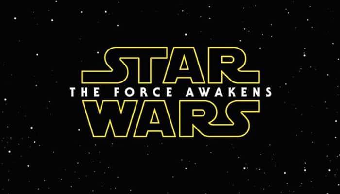 'Star Wars Episode VII' subtitled 'The Force Awakens'