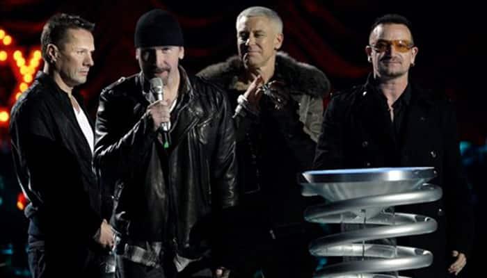 U2 to perform at MTV EMAs