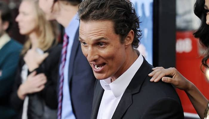 Matthew McConaughey to receive star on Hollywood Walk of Fame
