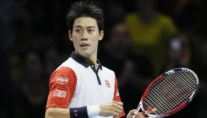 Kei Nishikori downs Andy Murray in Tour Finals opener