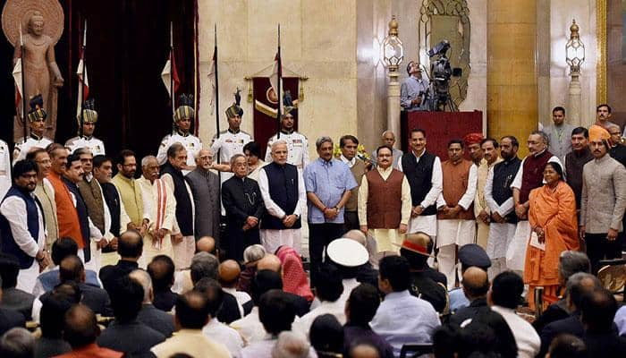 Modi Cabinet rejig: Manohar Parrikar new Defence Minister, Suresh Prabhu gets Railways