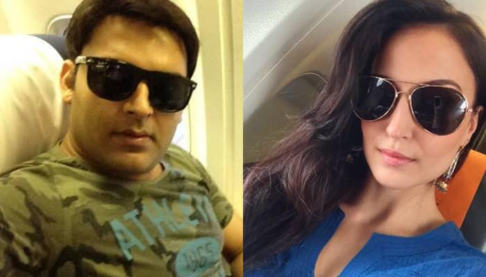 Kapil Sharma strikes a pose with Elli Avram