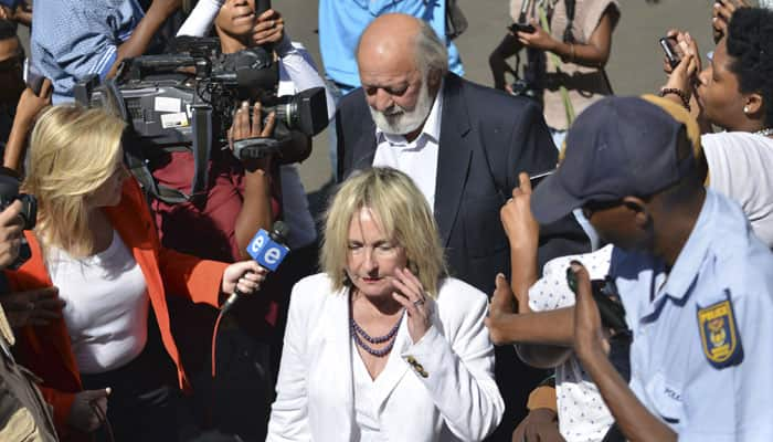 I don't believe Oscar Pistorius, says Reeva Steenkamp's mother