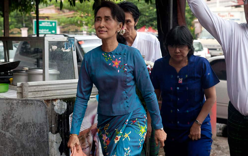 In Myanmar, PM Narendra Modi will also meet opposition leader and pro-democracy icon Aung San Suu Kyi.