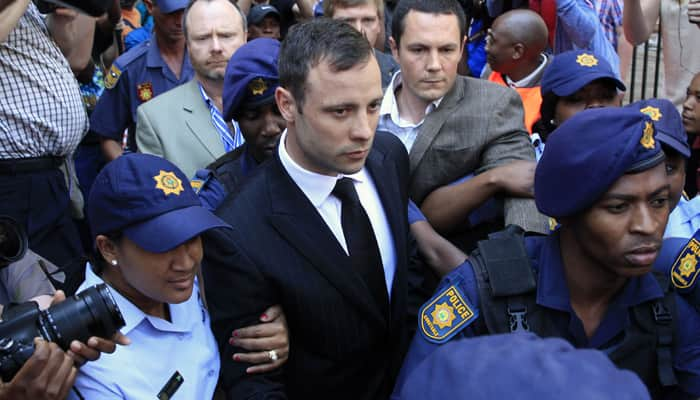 Pistorius may be denied early prison release over lack of ankles to fit electronic tag