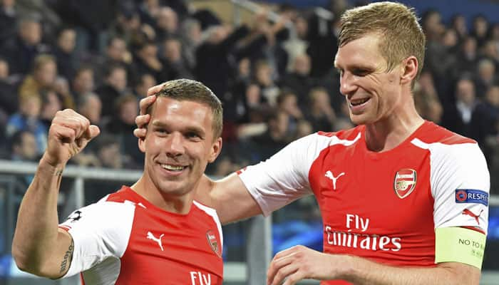 Lukas Podolski to seek talks with Arsenal
