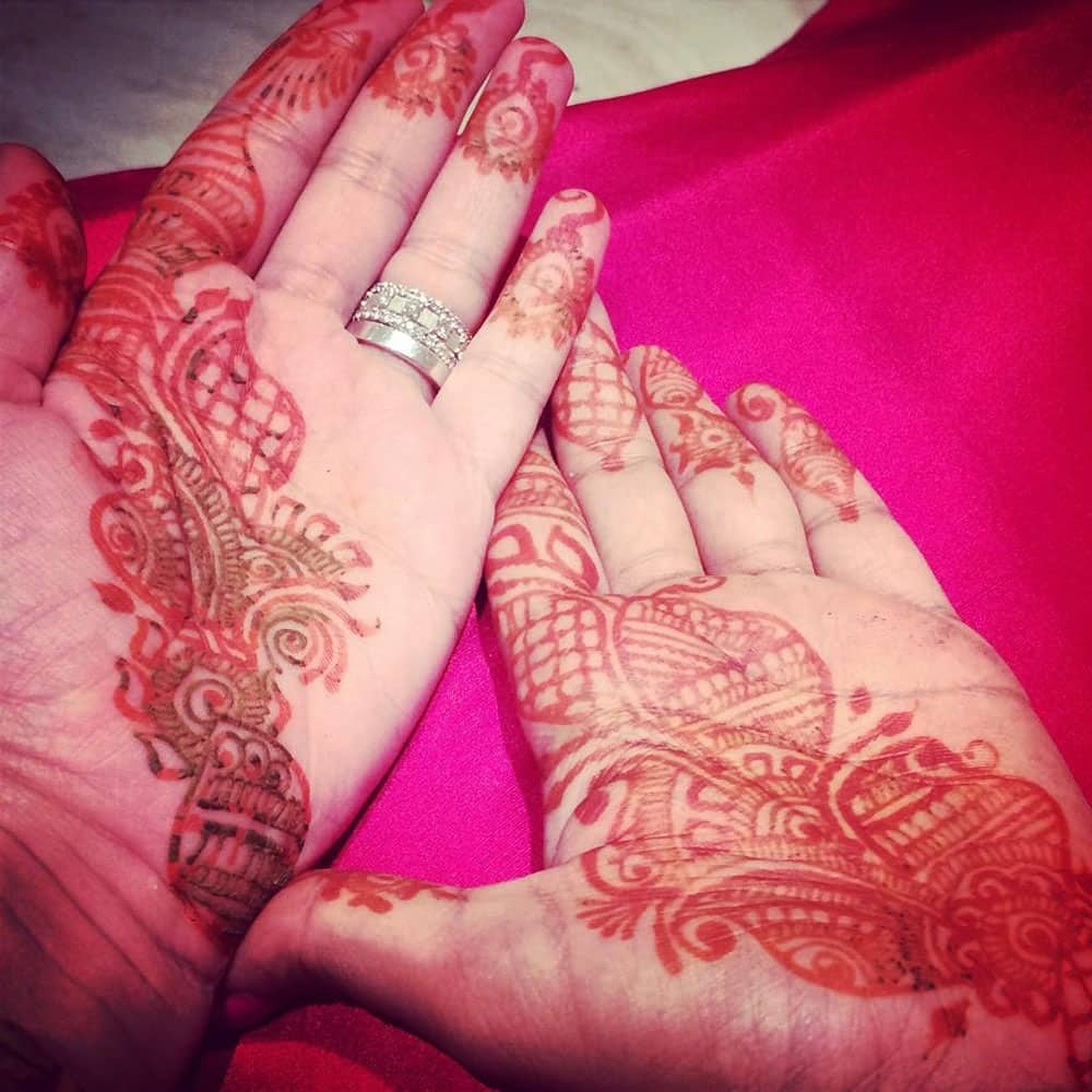 Arpita S Khan @khanarpita  :- @Nataschacharak our first karvachauth ! -pic courtesy -twitter