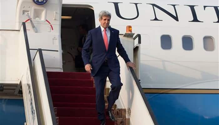Kerry meets Abbas as Israeli-Palestinian tensions soar