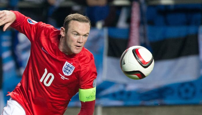 Wayne Rooney becomes youngest to win 100 caps for England