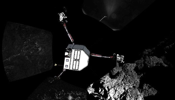 ESA publishes first ever pics of Philae Lander's 'bouncy' touchdown