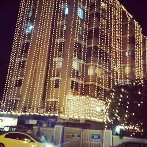 Salman Khan Decorates Entire Galaxy Apartment Building for Sister Arpita's Wedding. -twitter