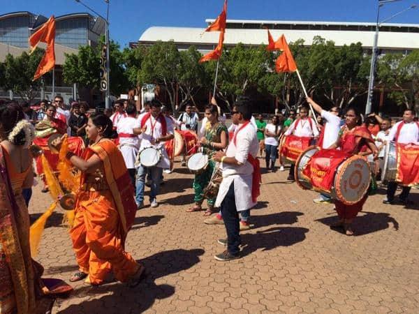 PM Narendra Modi at Allphones Arena in sydney -trwitter