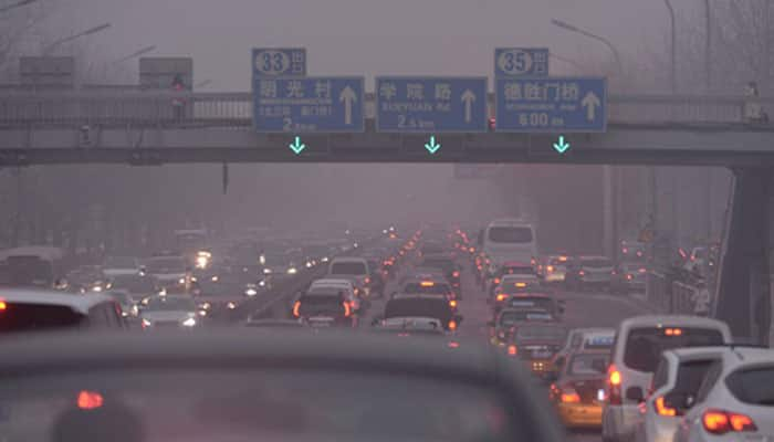 11 mn vehicles taken off road, factories shut in China for APEC