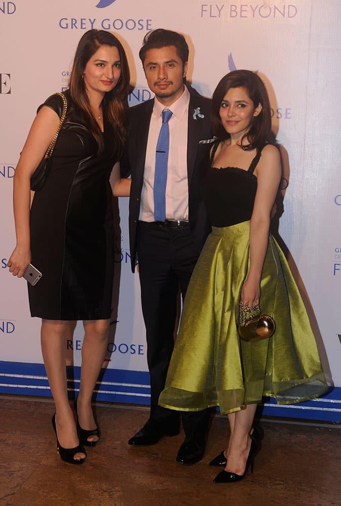 Ali Zafar during Grey Goose Fly Beyond Awards 2014 in Mumbai.- Rajneesh Londhe.DNA