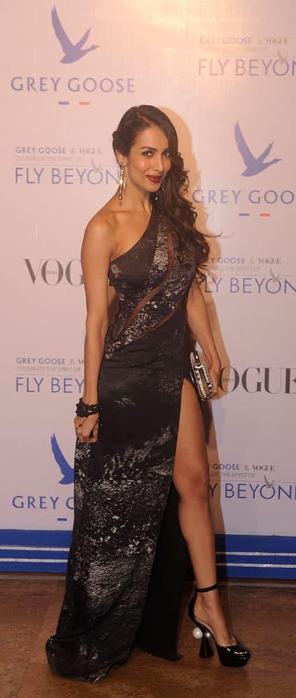 Malaika Arora Khan during Grey Goose Fly Beyond Awards 2014 in Mumbai.- Rajneesh Londhe.DNA